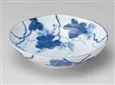 藍染ぶどう6.8深皿