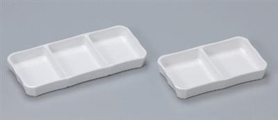 白磁三品皿(大)