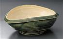 織部楕円鉢