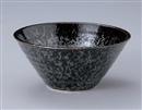 黒真珠水輪6.5麺鉢
