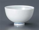 青白磁丸飯碗(大)