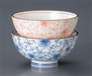 芽吹唐草赤茶碗(軽量)