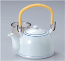 青白磁8号土瓶(茶漉し付)