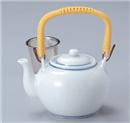 青白磁6号土瓶(茶漉し付)
