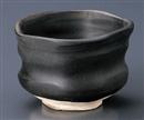 黒いぶし手造り抹茶碗