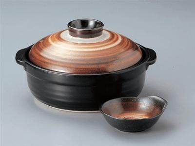 志野化粧6号鍋