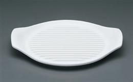 白26cmステーキ皿