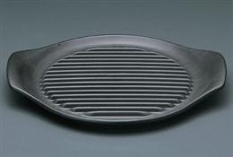 黒26cmステーキ皿