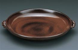 灰釉7号耐熱皿