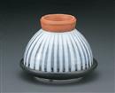 古染十草陶板タジン鍋