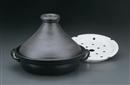 黒釉8号兜むし鍋