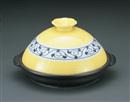 黄彩唐草タジン鍋