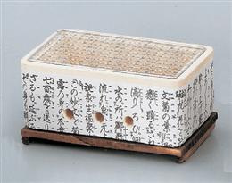 コンロ25cm長角コンロ(金網・木台別売)