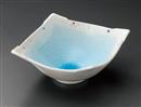 水玉ラスター菱形中鉢
