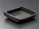 炭化土プラチナ流し渕押小鉢