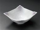 紫吹きラスター菱形中鉢