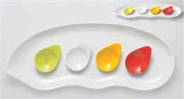 グリーン豆花小皿スプーン