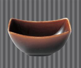 フリート小鉢(アメ釉)