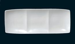 フリート3プレート(白)