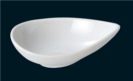 白磁11cmドロップボール