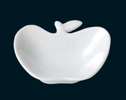 白磁アップル皿