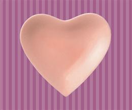 こころ小皿(ピンク)