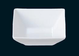 スクエア12cm正角鉢白