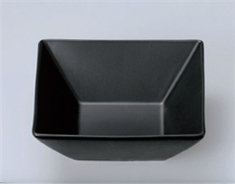 スクエア12cm正角鉢黒