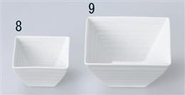 千段8cm角鉢