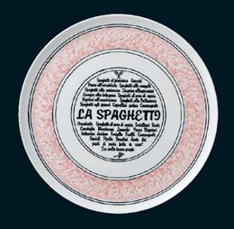 ナポリ(ピンク)31.5cmピザプレート