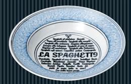 ナポリ(ブルー)26cmリムスープ