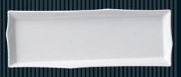 白オリメ長皿