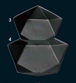 アポロ黒16cm浅ボール