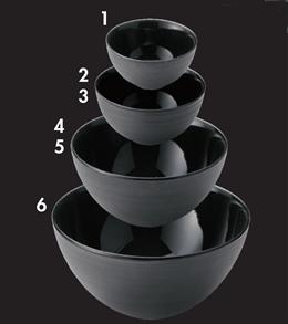 グラシア ブラック7.5cmボール