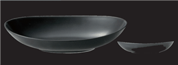 オーバル27cmボール黒