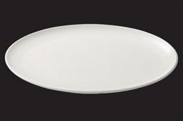 ストーンホワイト15吋楕円大皿