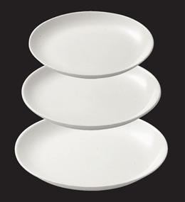 ストーンホワイト13吋大盛皿
