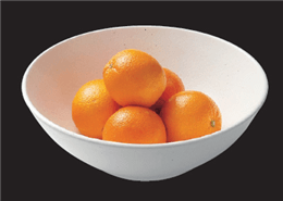 ストーンホワイト12吋大盛鉢