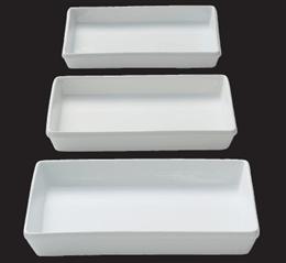 KMホワイト9.5吋角プラター