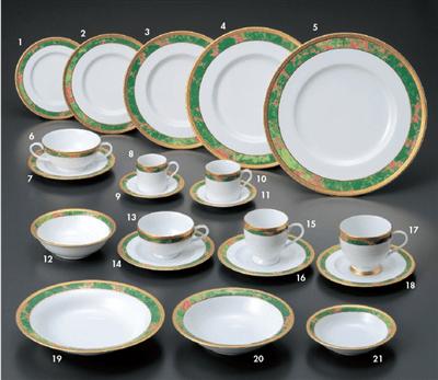 ウルトラホワイトローザンヌ 6 1/2吋皿