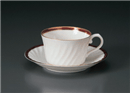 NBマロン紅茶C/S(碗と受け皿セット)