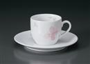ピンクフラワーDCコーヒーC/S(碗と受け皿セット)