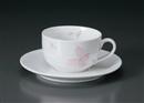 ピンクフラワーDC紅茶C/S(碗と受け皿セット)