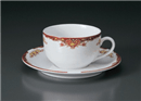 アラベスクルージュ紅茶C/S(碗と受け皿セット)