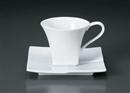 白磁カームコーヒーC/S(碗と受け皿セット)