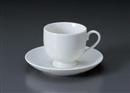 ボンルック高台コーヒーC/S(碗と受け皿セット)