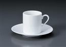 WYワイドリム切立コーヒーC/S(碗と受け皿セット)
