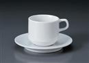 パールスタックアメリカン碗皿(碗と受け皿セット)