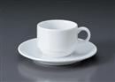 プラージュスタックコーヒーC/S(碗と受け皿セット)