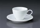 マキシム(特白磁)コーヒーC/S(碗と受け皿セット)